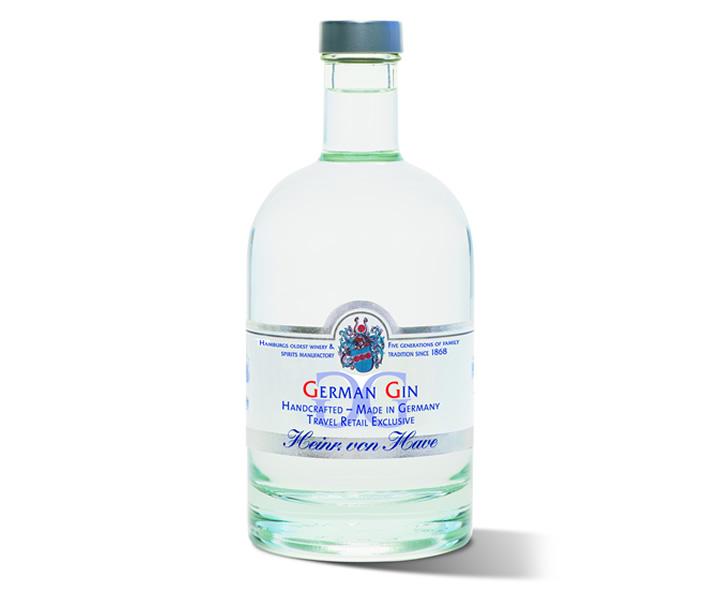 German Gin bottle