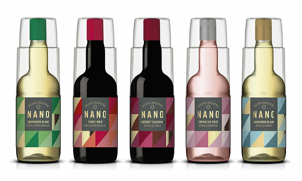 NANO Sileni Estates bottles